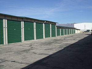 Conventional storage units at Access Storage