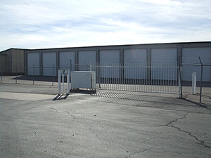 RV and boat storage area at Access Storage