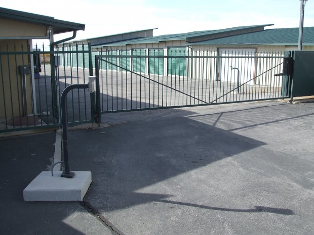 Access gate at Access Storage